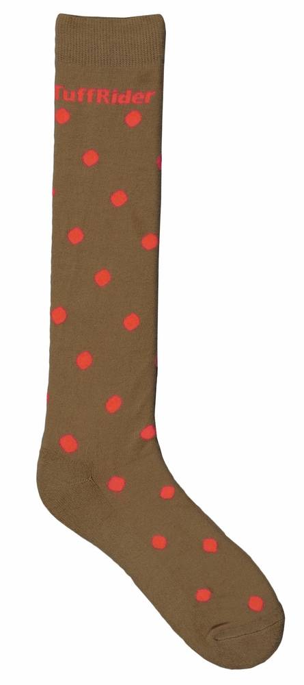 Tuffrider Polka-Dot Knee Socks - Ladies