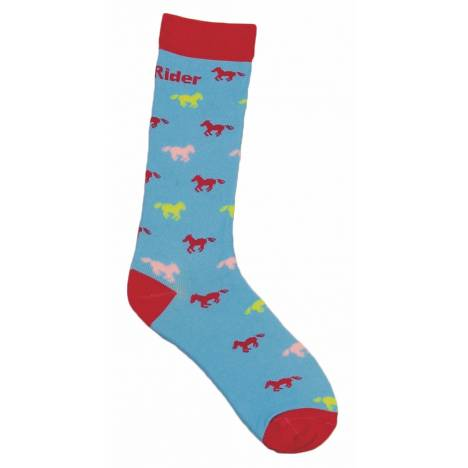 Tuffrider Neon Pony Socks - Kids