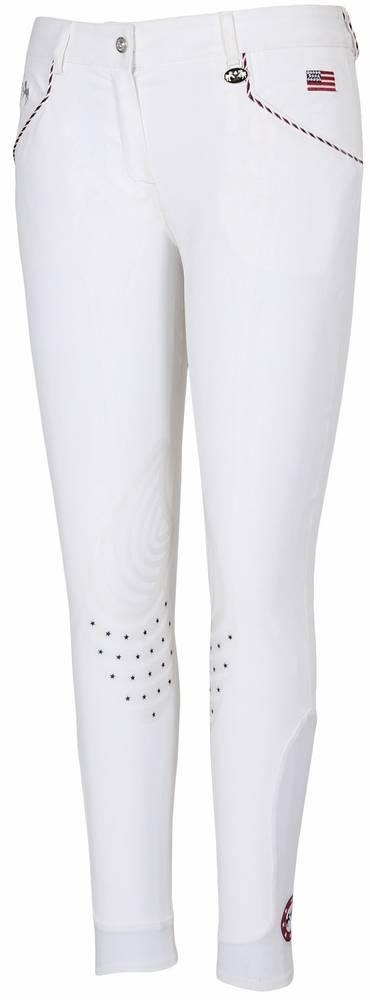 Equine Couture Centennial Breeches - Ladies, Knee Patch