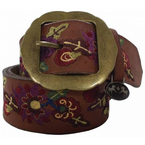 Equine Couture Veronica Leather Belt - Ladies