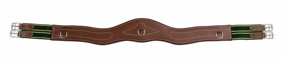 Henri de Rivel Contoured Leather Girth - Oakbark