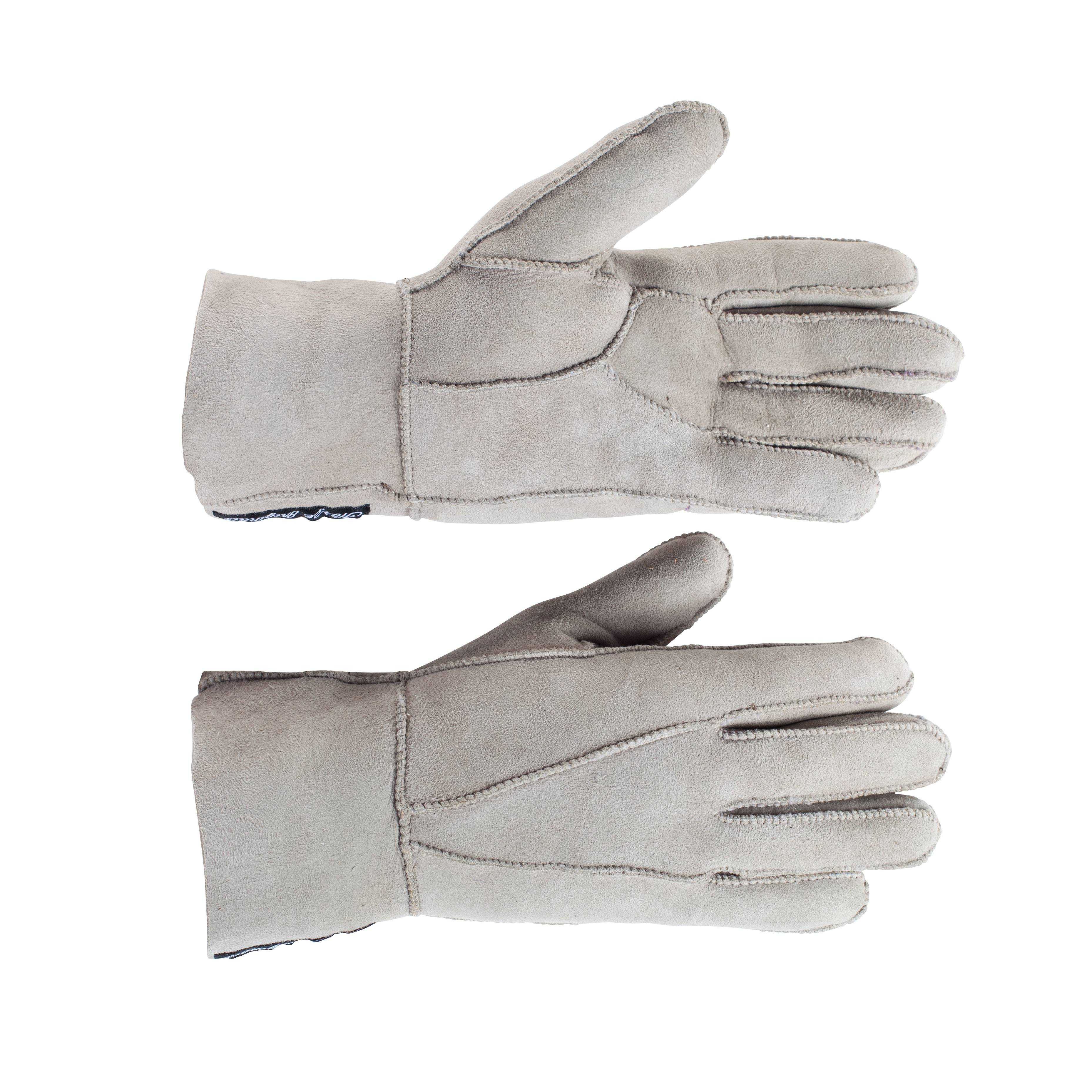 Horze Lana Sheepskin Winter Gloves - Ladies