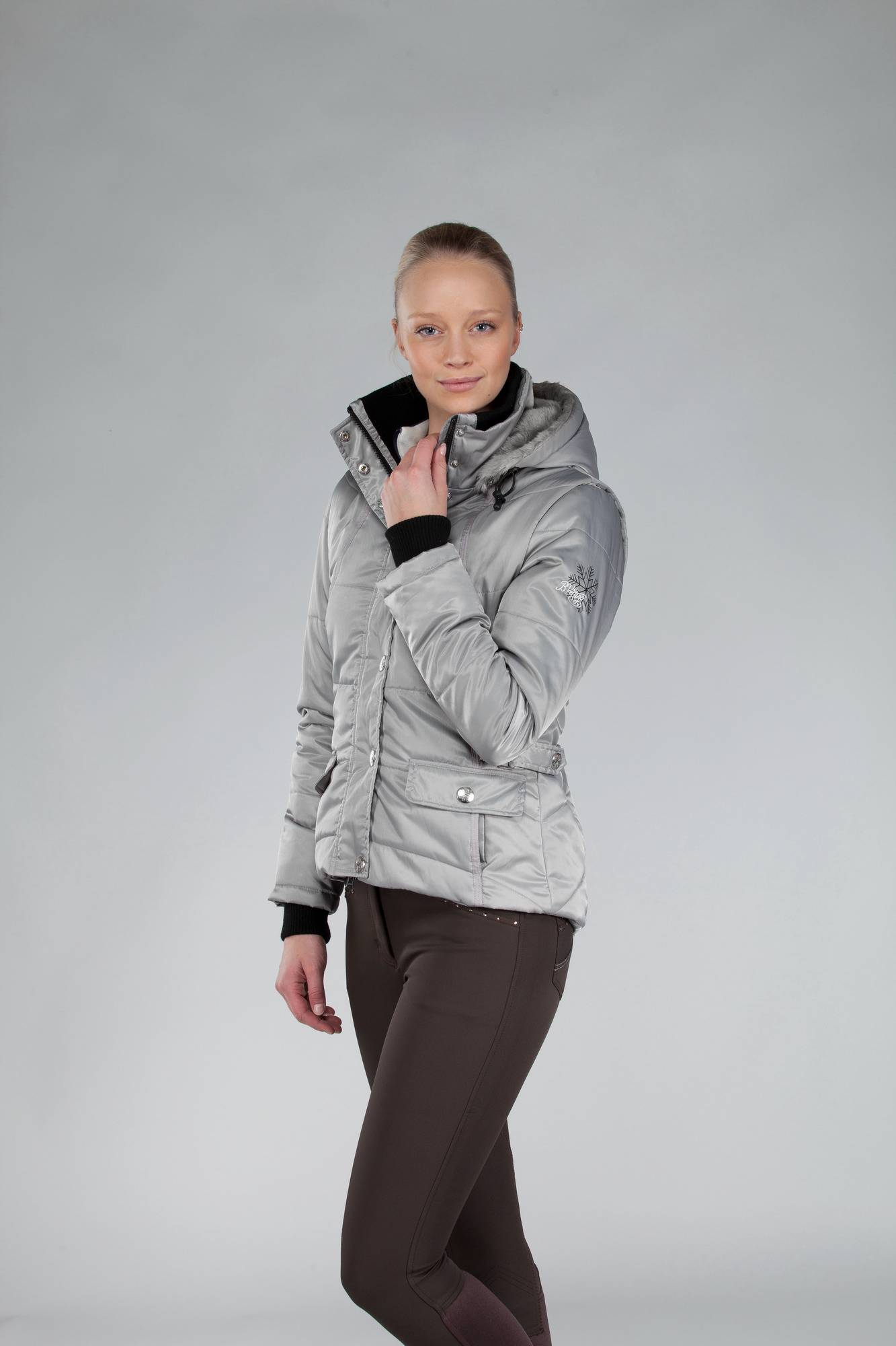 B Vertigo Vickie Ladies Vest With Detachable Slee