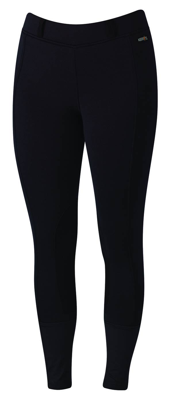 Kerrits Sit Tight N Warm WindPro Breeches- Ladies, Knee Patch