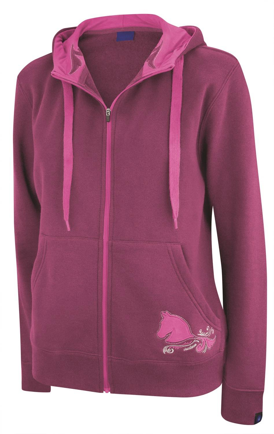 Irideon Swirly Girl Hoodie - Ladies