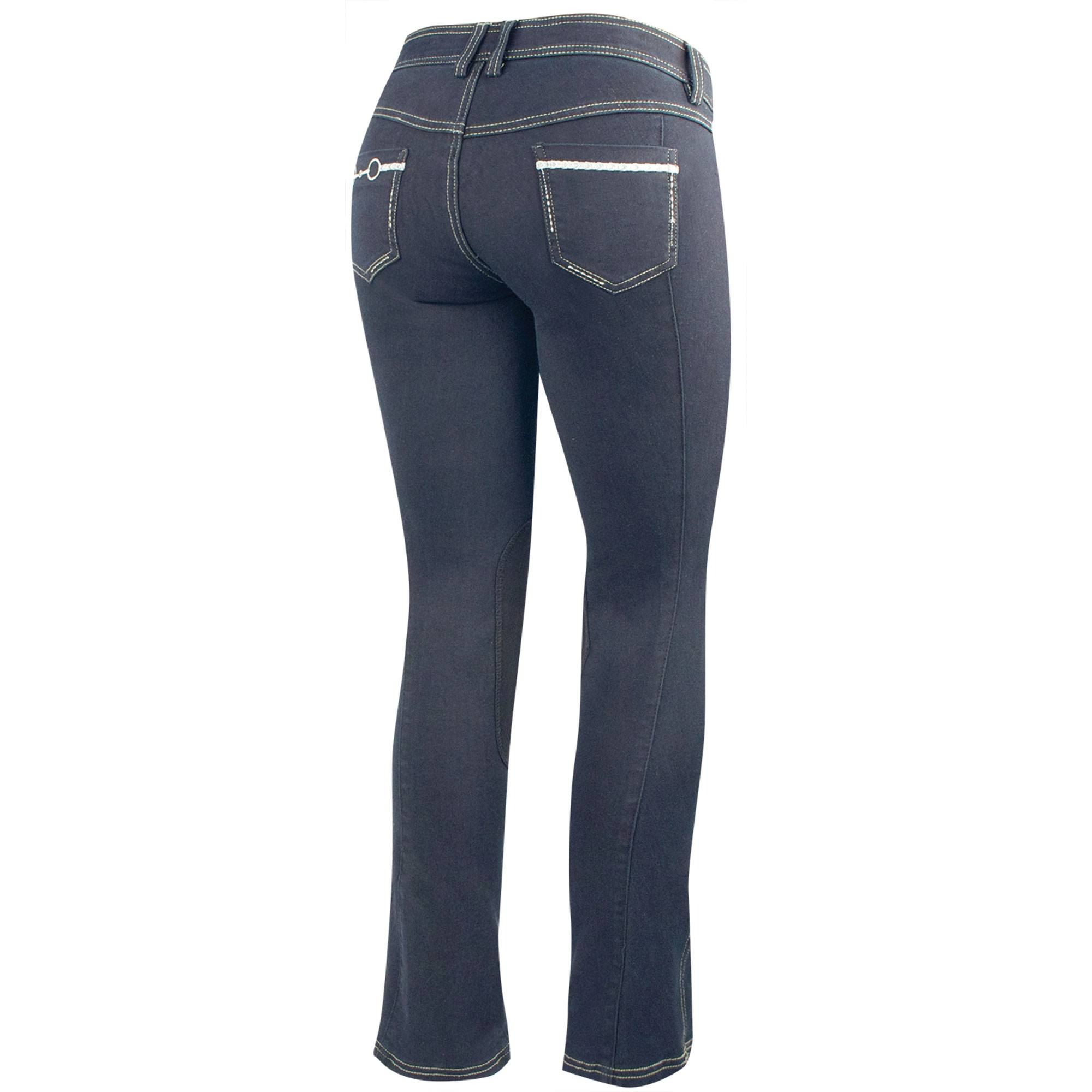 Irideon Verano Bit & Reins Denim Breeches - Kids