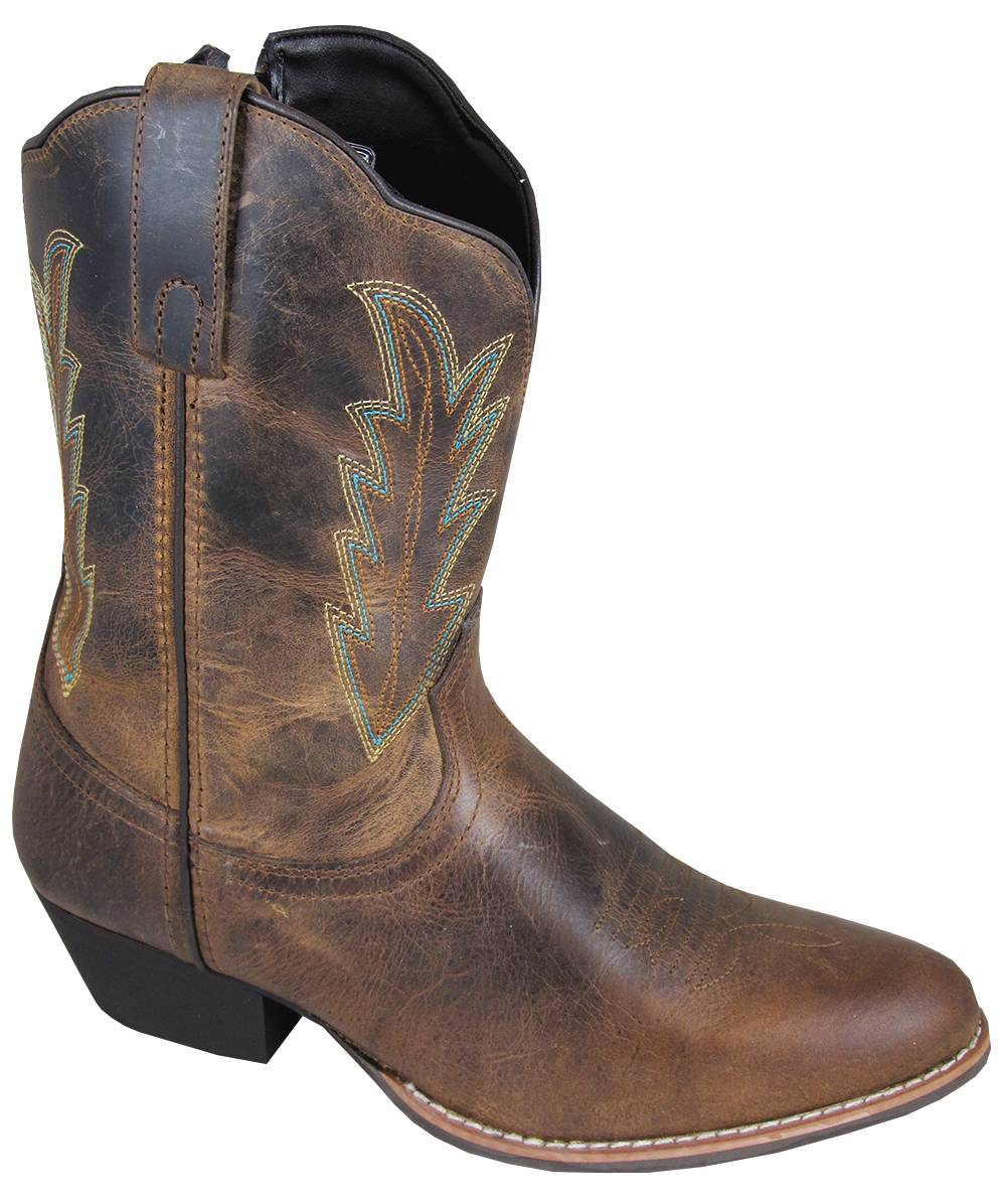 "Smoky Boots Amanda 9"" R Toe Boots - Ladies"