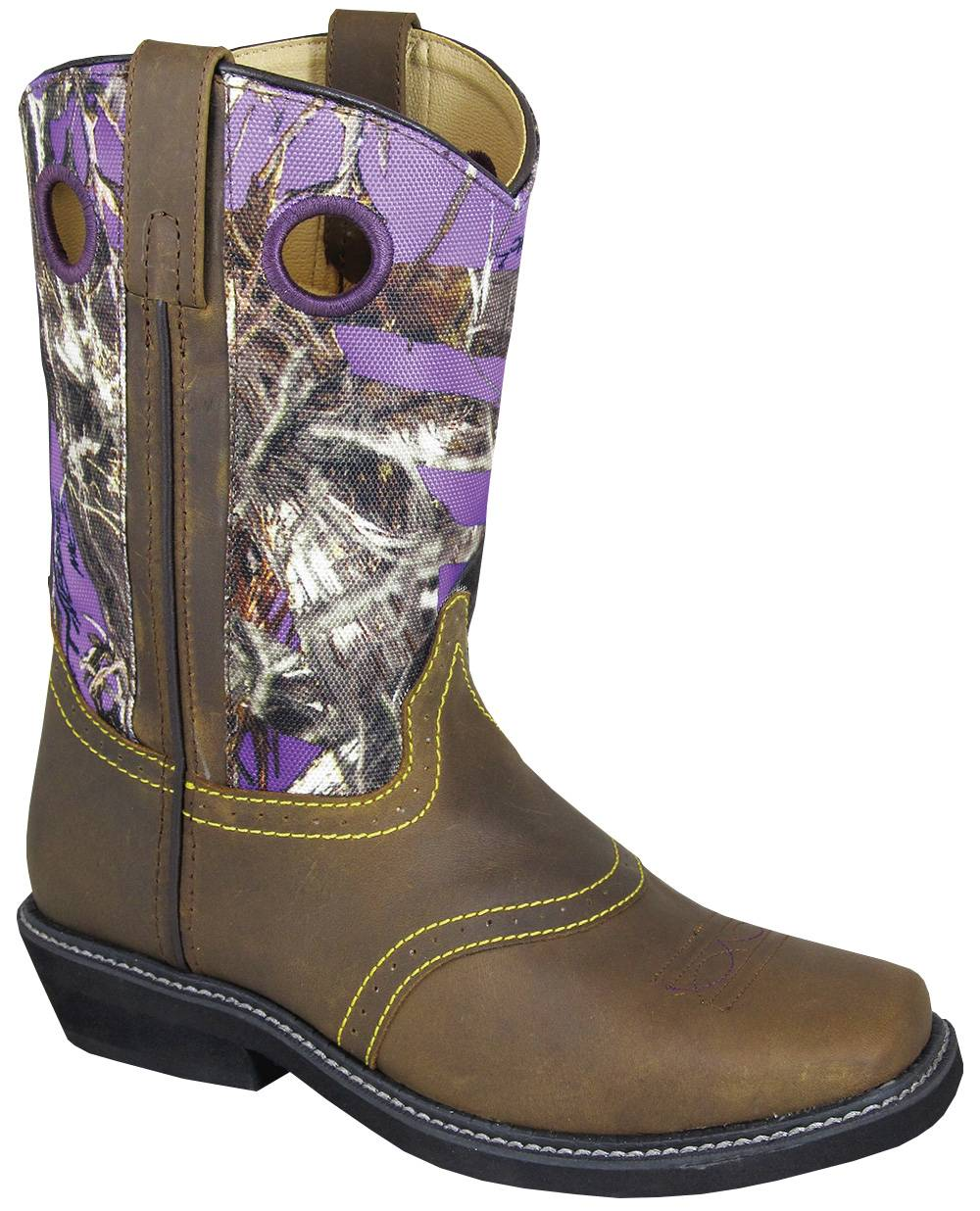 Smoky Mountain Cypress Crepe Boots - Ladies, Brown/Purple Camo