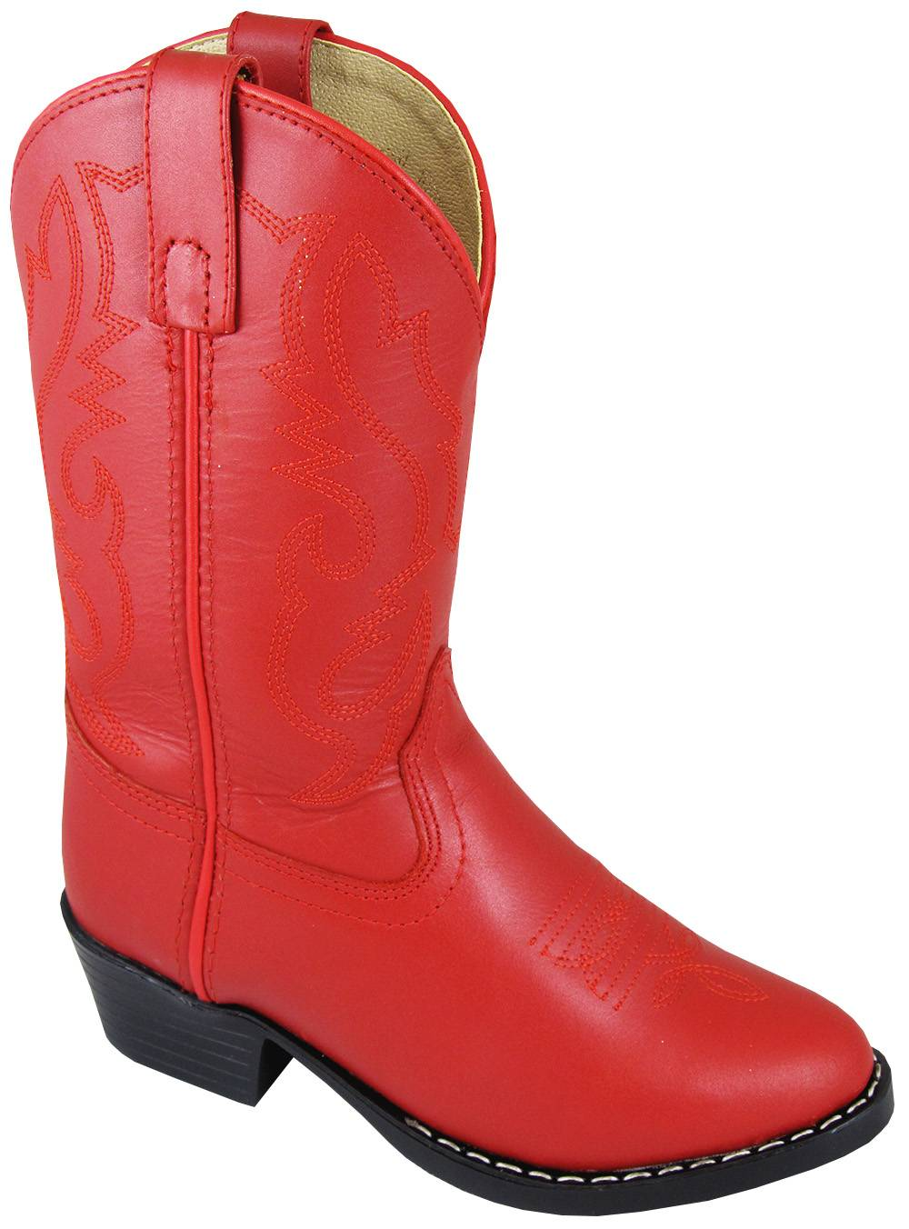 Smoky Mountain Denver Leather Boots - Kids, Red