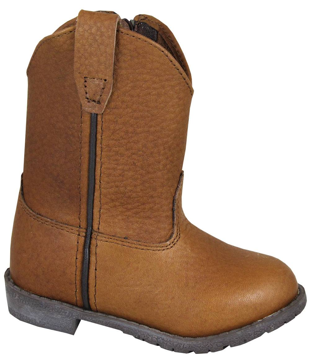 Smoky Mountain Jackson Leather Boots - Toddler, Brown