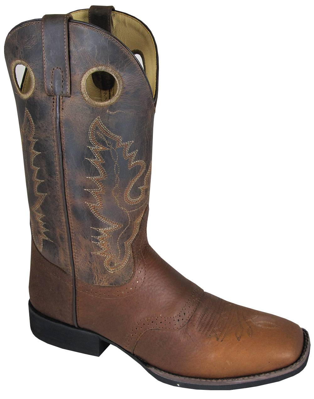 Smoky Mountain Luke Square Toe Boots - Mens