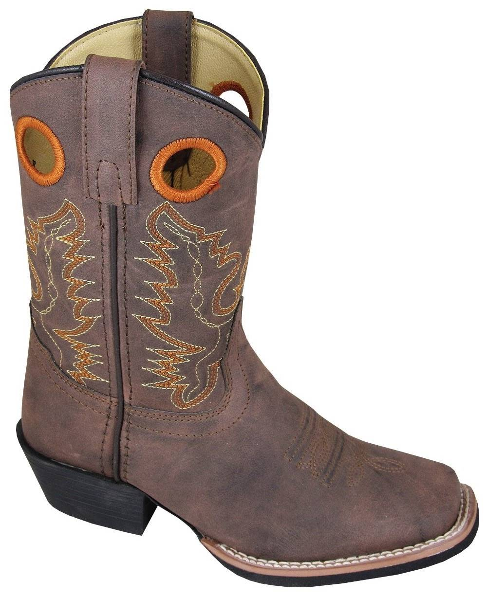 Smoky Mountain Memphis Boots - Youth, Distressed Brown