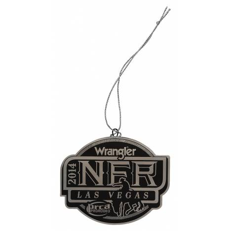 Montana Silversmiths 2014 WNFR Christmas Ornament