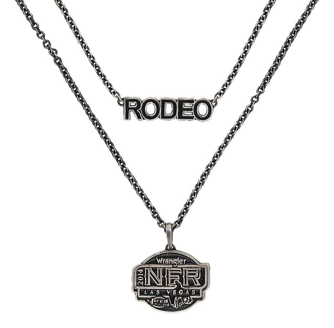 Montana Silversmiths 2014 WNFR Layered Necklace