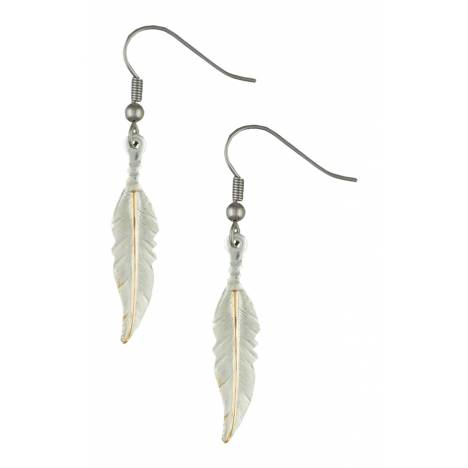 Montana Silversmiths Dream Feathers Dangle Earrings