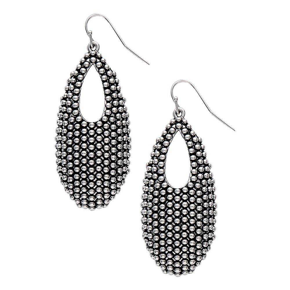 Montana Silversmiths Edge of the West Beaded Pouch Earrings