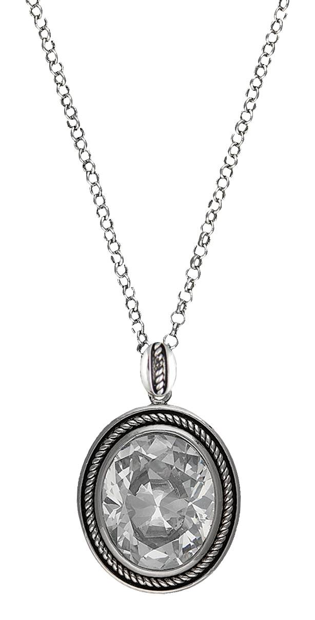 Montana Silversmiths Forever Cowgirl Necklace