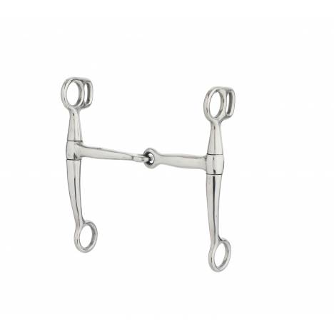 Turn-Two Stainless Steel Snaffle Tom Thumb Bit