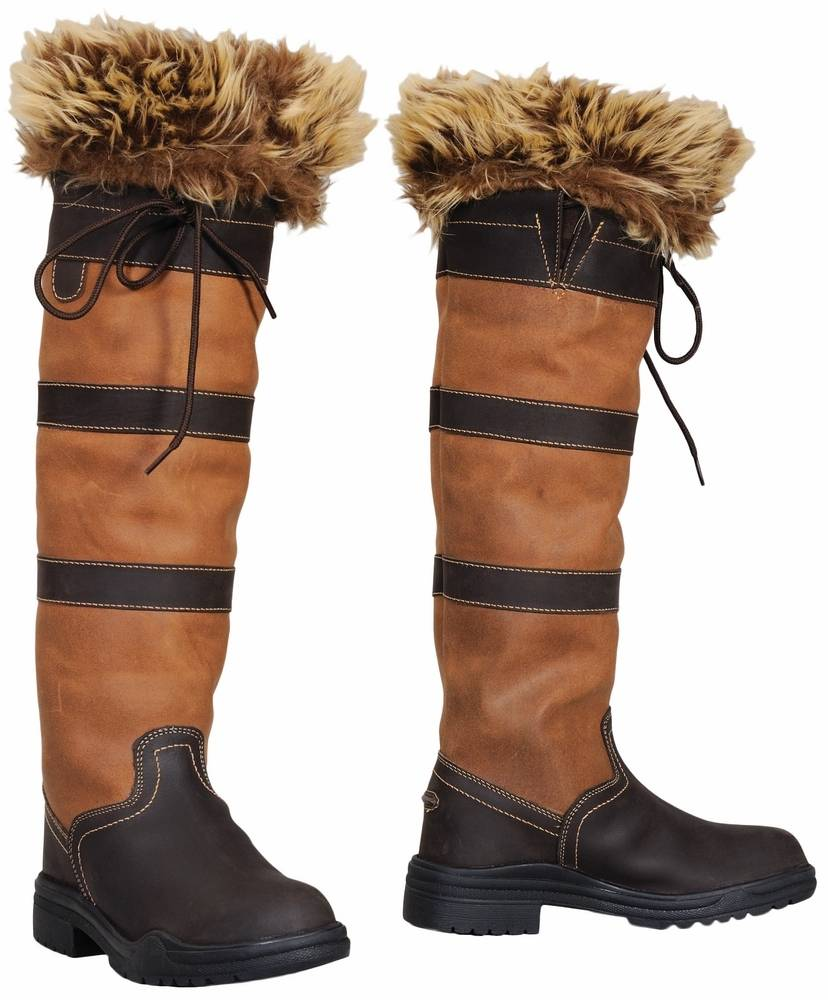 Tuffrider Fur Top Boot Liners - Ladies