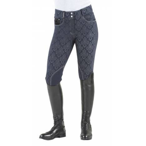 Romfh Baroque Print Breeches - Ladies, Knee Patch