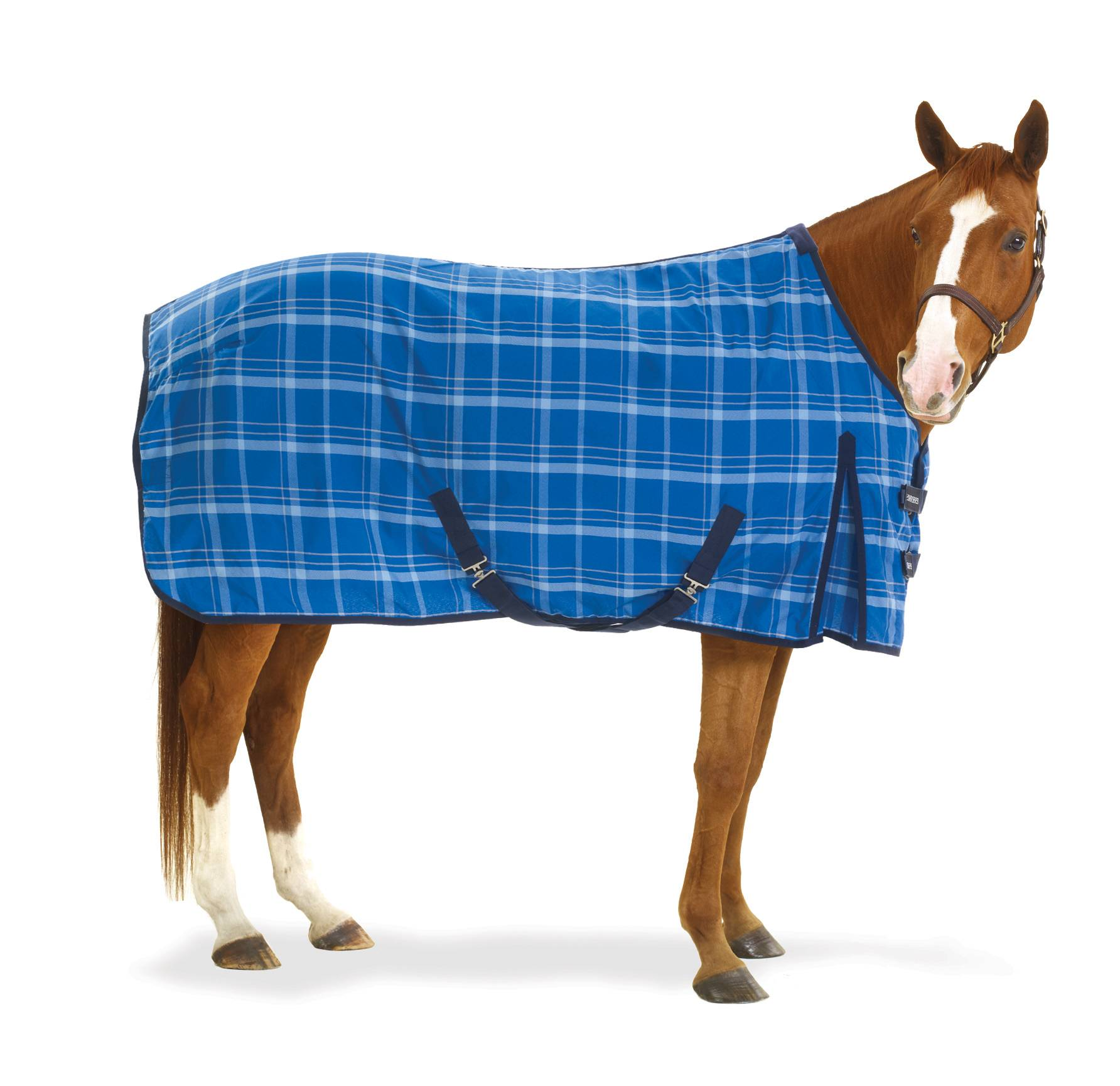 Equi-Essentials EZ-Care Lite Stable Sheet - Plaid