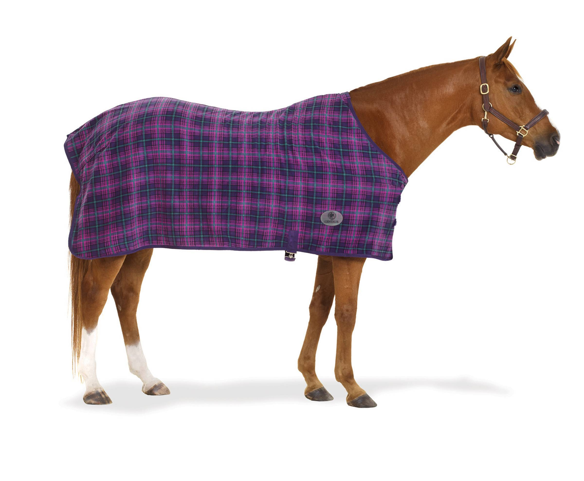Centaur 220g Fleece Sheet - Plaid