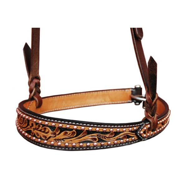 Turn-Two Prairie Rose Noseband