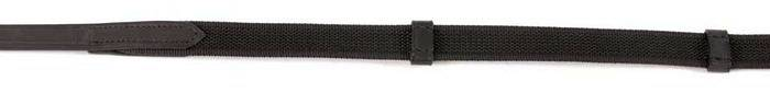 Shires Rubberized Continental Web Reins