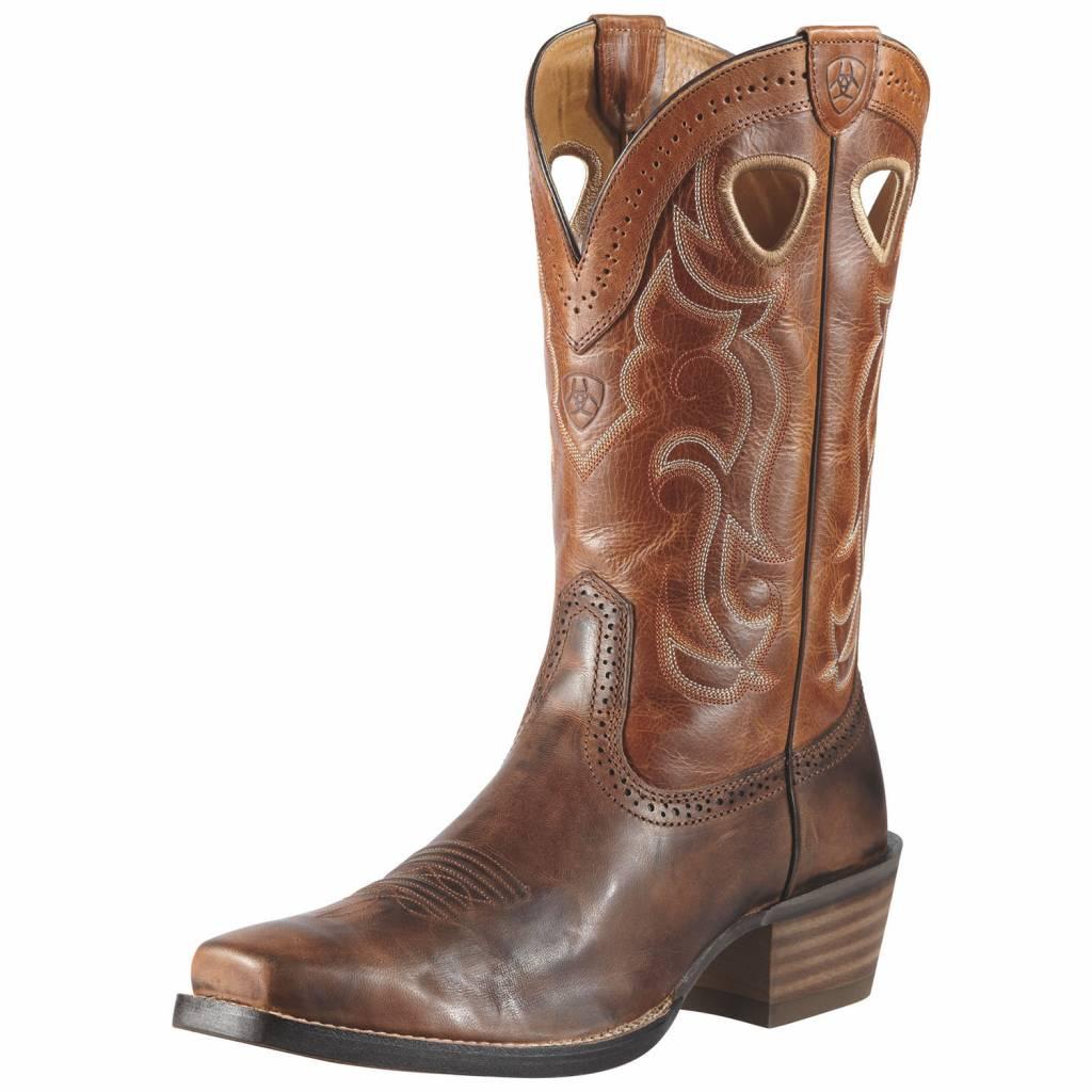 Aiat Rawhide Western Boots - Mens, Chestnut/Vintage Cedar