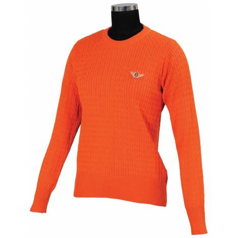 Tuffrider Classic Cable Sweater - Ladies
