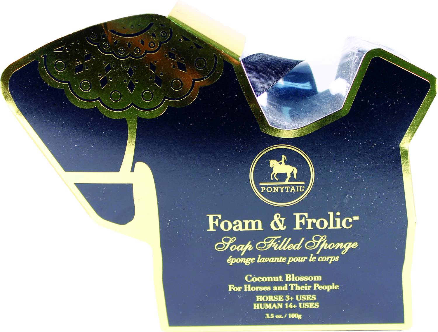 Foam And Frolic Soap Filled Sponge