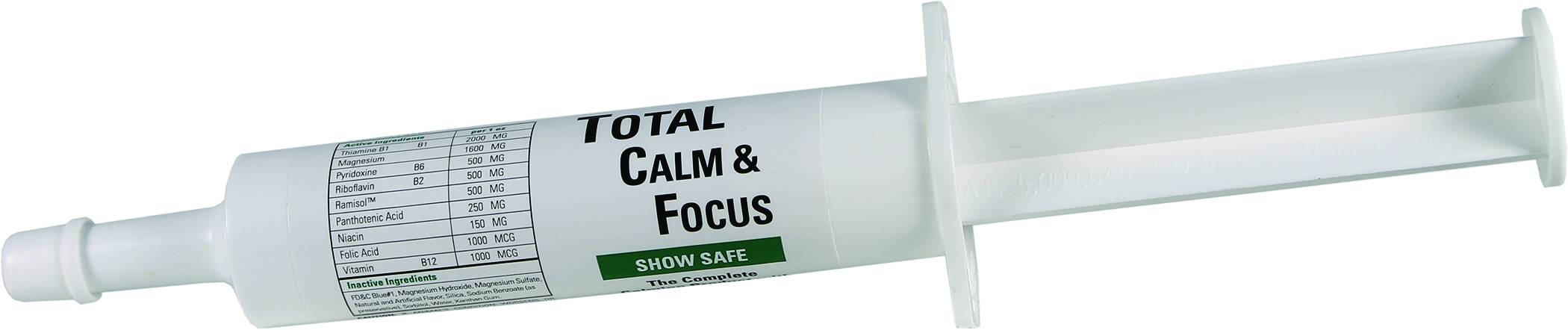 Total Calm & Focus Show Safe Syringe