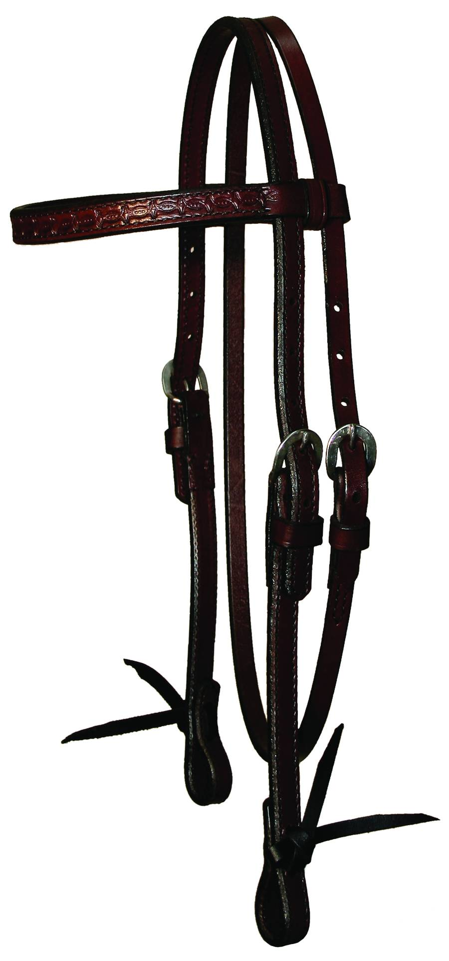 Circle Y Browband Tooled Headstall