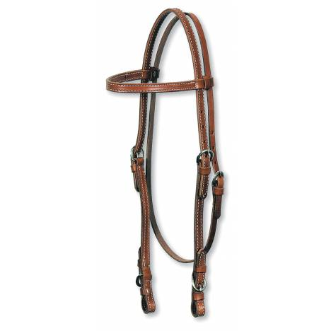 Circle Y Browband Bit Buckle Headstall