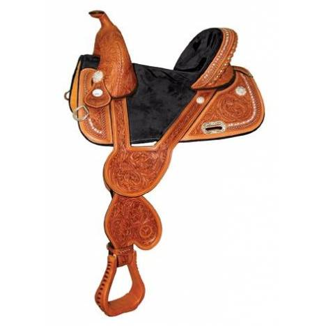 Circle Y Fischer Tree Less Barrel Saddle