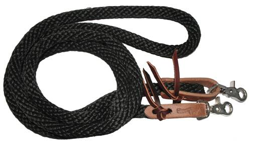 Circle Y Nylon Poly Single Rein