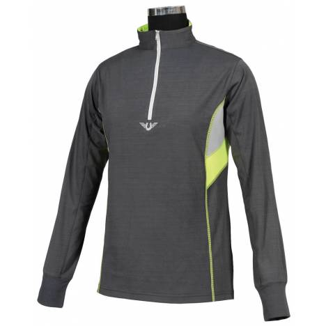 Tuffrider Neon Ventilated Shirt - Kids, Long Sleeve