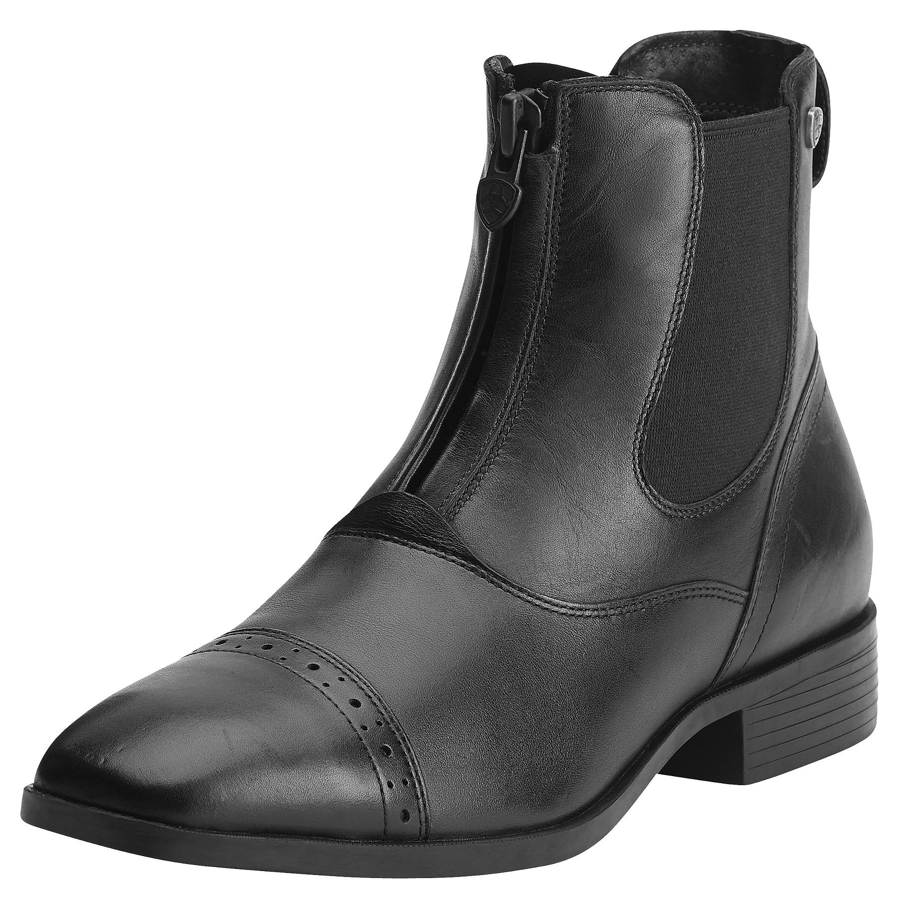 Ariat Challenge Square Toe Zip Paddock - Ladies, Black