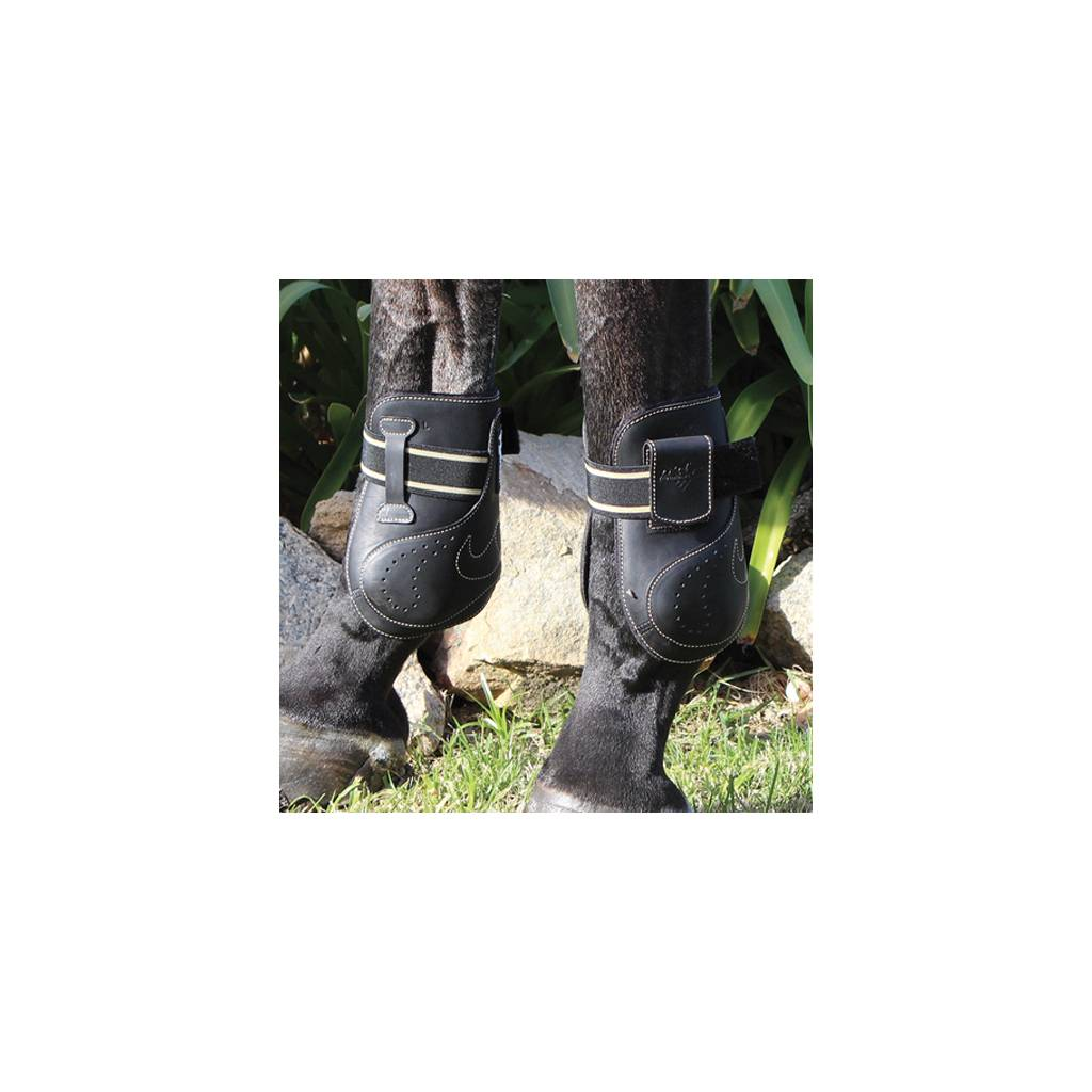 Professionals Choice VenTECH Leather Open Front Ankle Boots