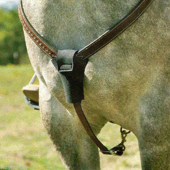 Classic Equine Braided Rawhide Rope Halter