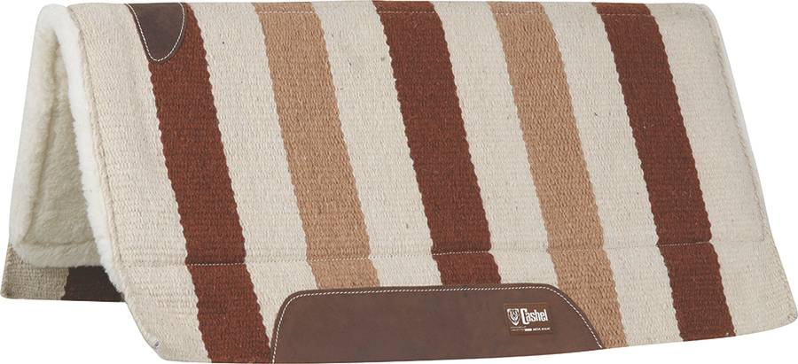 Cashel Performance Wool Western Saddle Pad