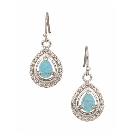 Montana Silversmiths River Lights On Ice Teardrop Earrings