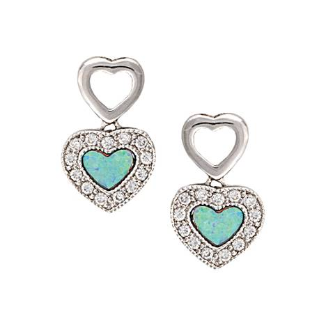 Montana Silversmiths River Lights In Love Earrings