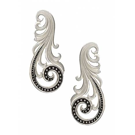 Montana Silversmiths Western Lace Whisper Earrings