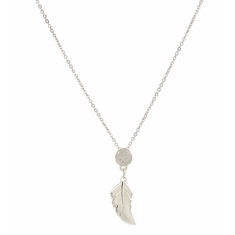 Montana Silversmiths No Dream Is Too Small Feather Necklace
