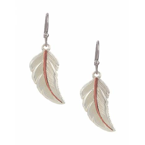 Montana Silversmiths No Dream Is Too Small Feather Earrings