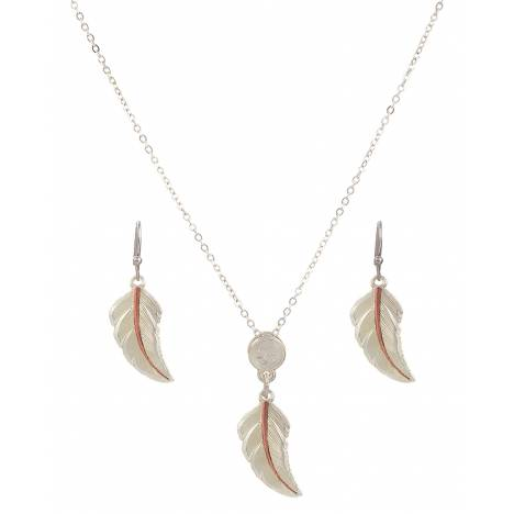 Montana Silversmiths No Dream Is Too Small Feather Jewelry Set