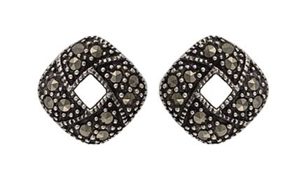 Montana Silversmiths Sparks Will Fly Fire Ring Marcasite Post Earrings
