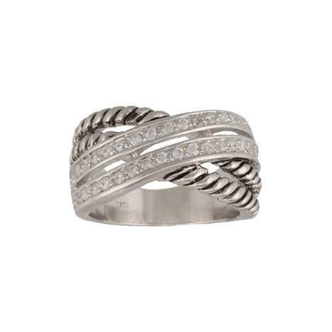 Montana Silversmiths Double Band Wrap Ring