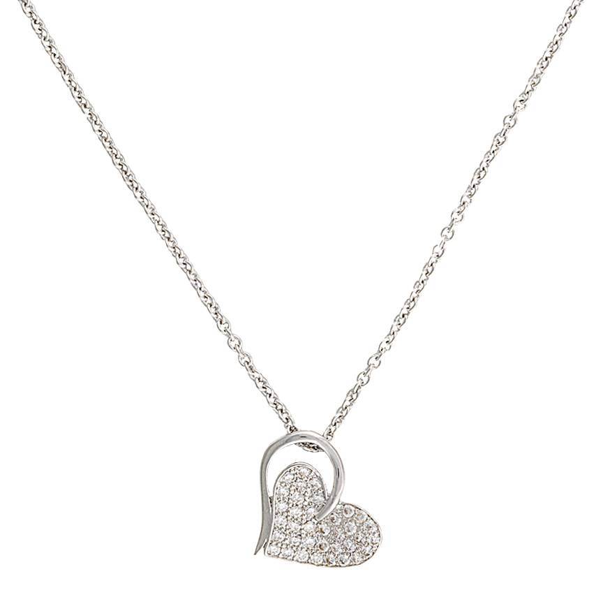 Montana Silversmiths Heart Print Necklace